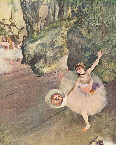 Degas The Rehearsal 1877