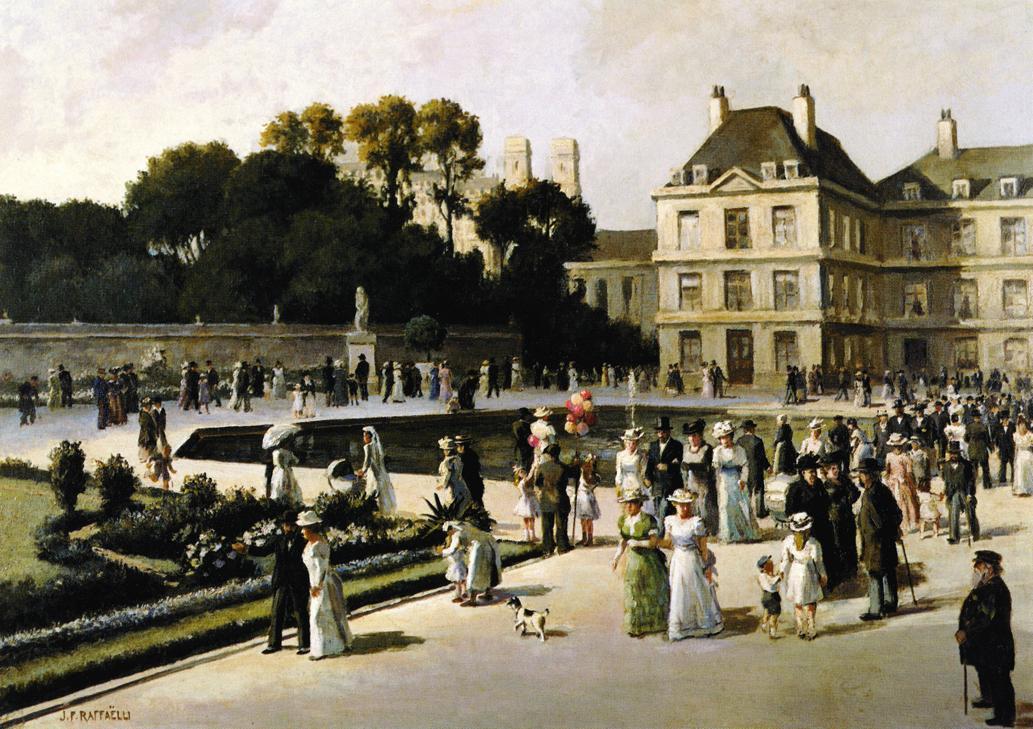 Jean fran ois raffa lli for Jardin du luxembourg